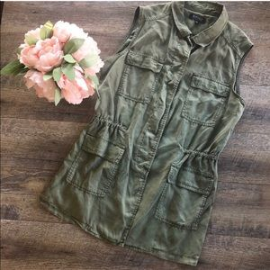 💕LAST CHANCE💕 Nordstrom Army Green Vest Jacket